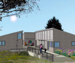 A rendering of a possible design for the new pavilion at Pemaquid Beach Park. The Bristol Parks and Recreation Department has received a $300,000 grant for the project. (Image courtesy Theodore + Theodore)