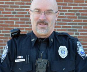 Damariscotta Police Officer Craig Worster.
