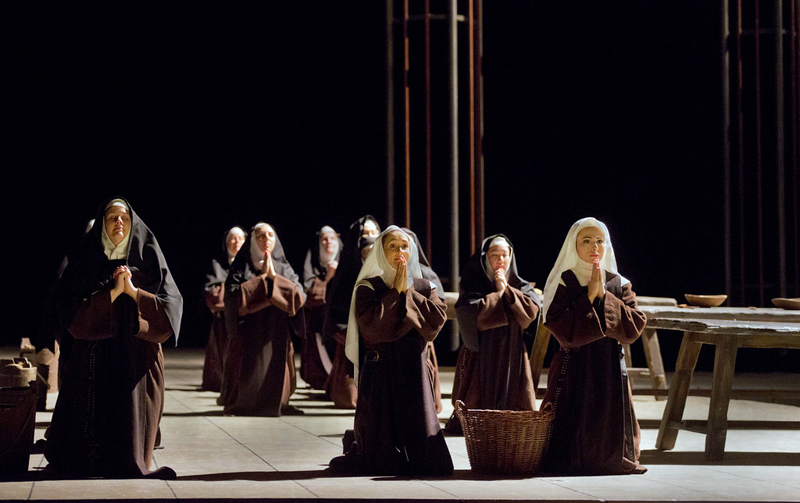 "The Metropolitan Opera's production of Francis Poulenc's ""Dialogues des Carmelites"" will be live-screened at Lincoln Theater on Saturday, May 11. (Photo courtesy The Metropolitan Opera)"
