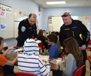 Police Chief Teaches First D.A.R.E. Class at Wiscasset Elementary