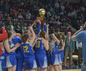 Lady Seahawks Bring Gold Ball Home to Boothbay