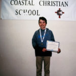 Coastal Christian Student Goes to State Geography Bee