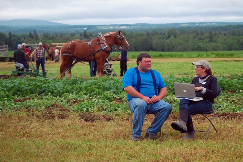 """This June, Maine Farmland Trust will embark on a road trip and listening tour to visit farms from York County to """"The County."""""""