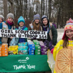 Nobleboro Girl Scouts to Sell Cookies at Town Meeting