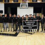 LA Cross-Country Team Banners Presented