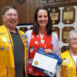 Whitefield Lions Club Inducts New Member