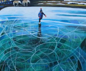 Susan Bartlett Rice Exhibits 'Winter Blues' at Rising Tide