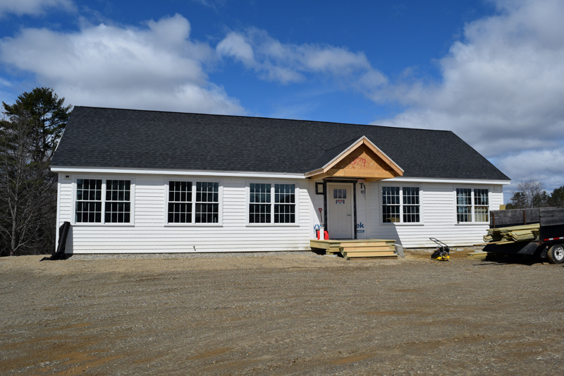 Alna's new town office is open for business as of Tuesday, April 16. (Jessica Clifford photo)