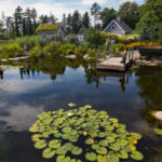 Botanical Gardens Finishes Restoration Plan, Gives $18K to Alna Dam Project
