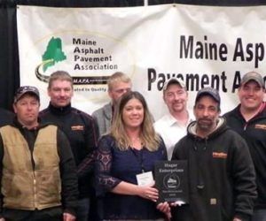Damariscotta Contractor Wins Statewide Award for Boothbay Roundabout