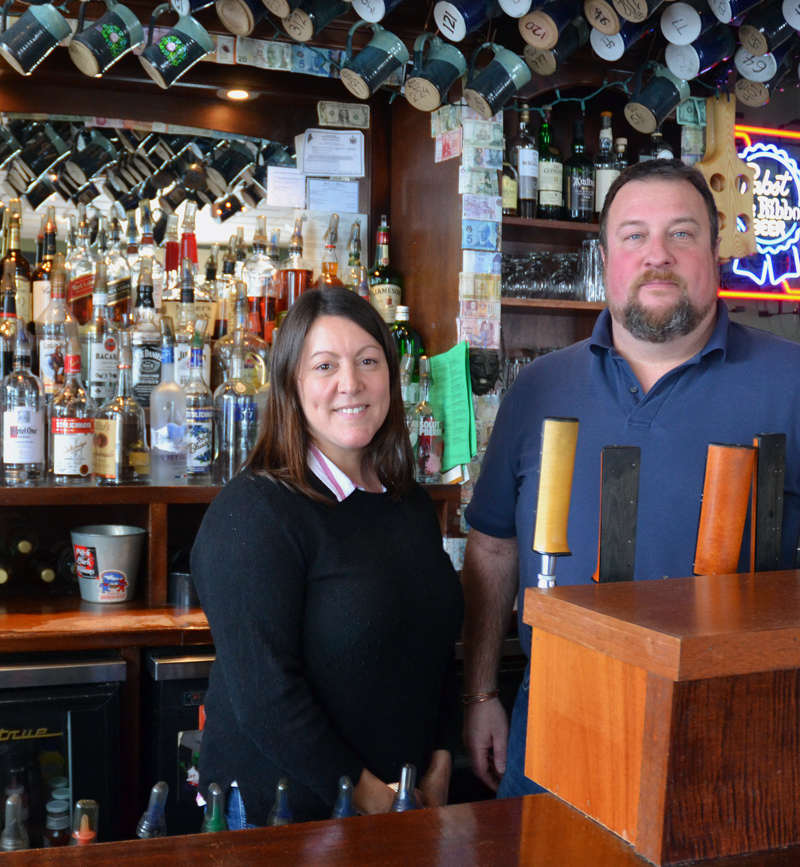Newcastle Publick House owners Rachel and Alex Nevens will open Oysterhead Pizza Co. in downtown Damariscotta in September. The eatery will offer wood-fired pizzas, oysters, salads, and more. (Maia Zewert photo)