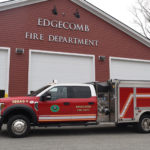 New Edgecomb Fire Truck in Service