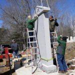 South Bristol Veterans Memorial Goes Up