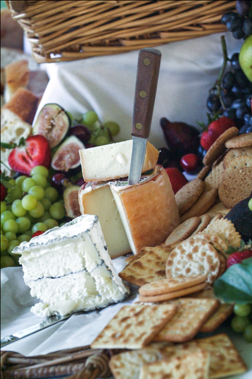A cheese platter by Laura Cabot Catering. (Photo courtesy Michele Stapleton)