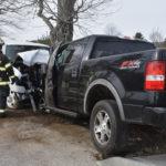 Pickups Collide on North Nobleboro Road