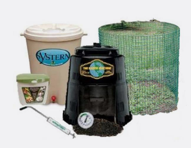 All composting supplies and rain barrels are available for preorder only. Get one of each and be ready to conserve precious water and make compost to improve garden soil.