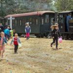 Easter Eggspress Trains in Alna on April 20