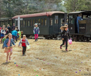 Easter Eggspress Trains in Alna on April 20