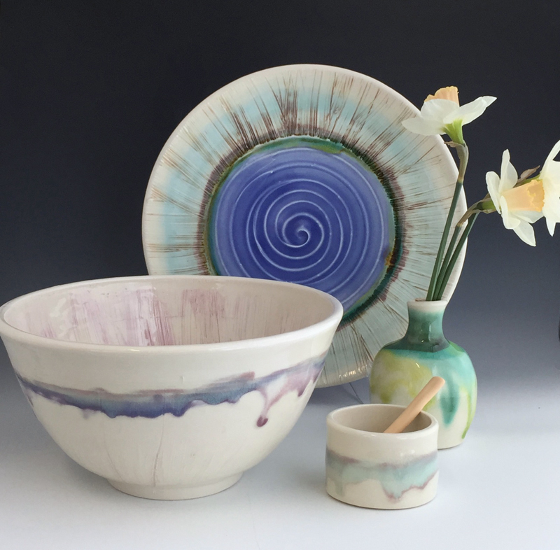 Liz Proffetty Ceramics pieces.