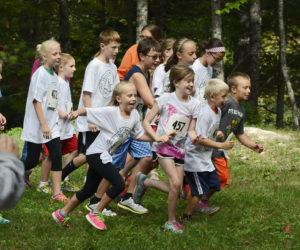 Trail Running Workshop for Kids at Nature Center