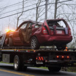 Driver Falls Asleep, Vehicle Rolls Over in Dresden