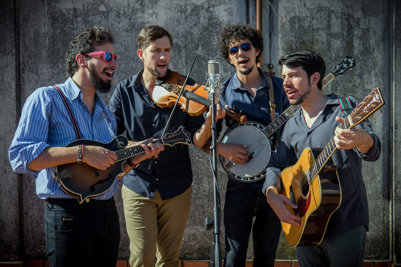 Latingrass band Che Apalache hits the stage at The Opera House at Boothbay Harbor on Friday, May 10. (Photo courtesy The Opera House at Boothbay Harbor)
