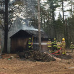 Firefighters Extinguish Nobleboro Shed Fire