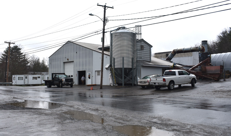 The North American Kelp facility on Cross Street in Waldoboro. A recent decision by the Maine Supreme Judicial Court could have a negative impact on the supply of kelp to the business. (Alexander Violo photo)