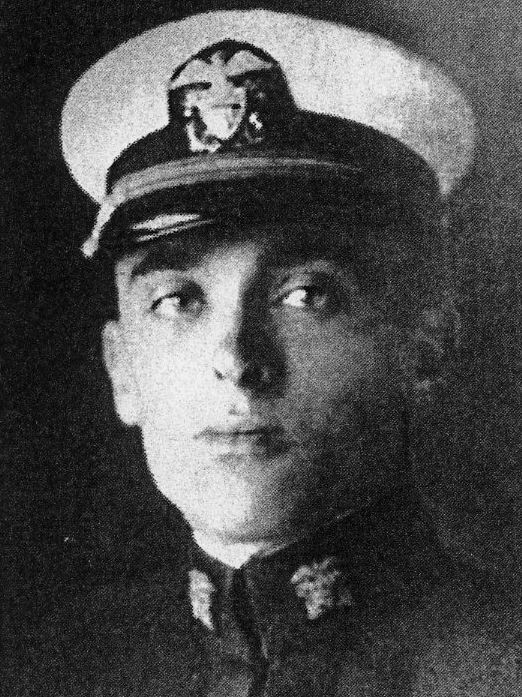 Richard R. Wells, a lieutenant in the United States Navy, World War I, killed in action Sept. 20, 1918. (Photo courtesy Marjorie and Calvin Dodge)