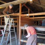 Pemaquid Mill Volunteers Start First Phase of Restoration