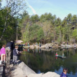 Youth Spring Fishing Day at Waldoboro Quarry