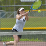 Lady Eagle tennis strokes past Freeport