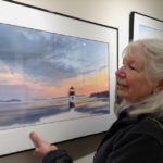 New Pastel Artist at Saltwater Artists Gallery