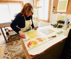 Printmaker to Talk at Library