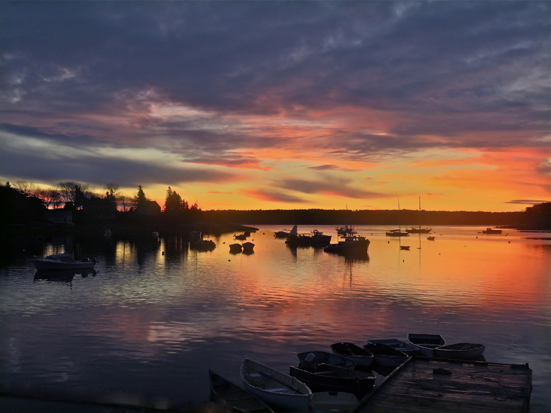 Jan Griesenbrock's photo of Round Pond Harbor received the most votes to become the April winner of the #LCNme365 photo contest. Bassett received a $50 gift certificate to Newcastle Chrysler Dodge Jeep Ram Viper, the sponsor of the April contest.