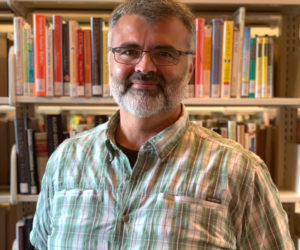 Skidompha Library Executive Director Matthew Graff.