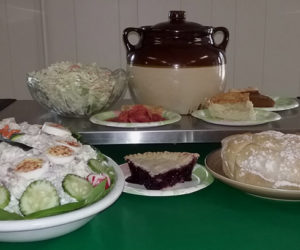 Delicious, home-cooked food at the Nobleboro church this Saturday.