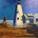 Carol Wiley at Saltwater Artists Gallery
