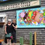 New Mural at Fernald's Greets Damariscotta Visitors