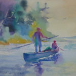 Local Watercolor Artists at Pemaquid Art Gallery