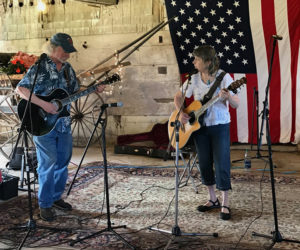 Performers at Inn Along the Way's open mic. (Photo courtesy Marianne Pinkham)