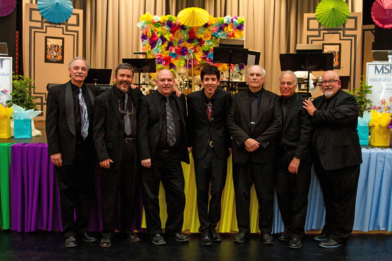 The Novel Jazz Septet will be performing at the Skidompha Library on Friday, June 21.