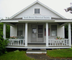 The South Bristol Historical Society Museum on Route 129 in the village of South Bristol.