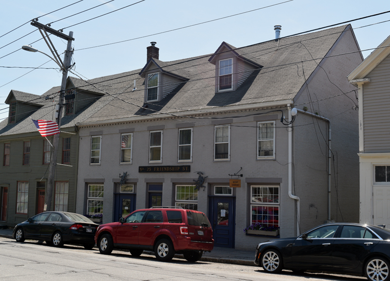 Midcoast Conservancy will share its space at 25 Friendship St. in Waldoboro with the Waldoboro Public Library's new secondhand bookshop. The shop is expected to open in early July, with all proceeds to benefit the library. (Jessica Clifford photo)