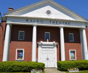 The historic Waldo Theatre on Waldoboro Day, Saturday, June 15. The nonprofit Waldo Theatre Inc. plans to reopen the theater in fall 2020. (Evan Houk photo)