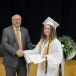 Dow Presents Scholarship to Bristol Student