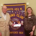 Bristol Area Lions Learn About Healthy Lincoln County