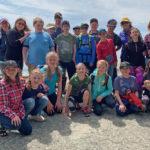 Students Sample Island Life
