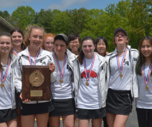 """<span class=""""entry-title-primary"""">Lincoln Academy Girls Tennis Team Wins Second Straight Regional Championship</span> <span class=""""entry-subtitle"""">Lincoln 4 - Greely 1</span>"""
