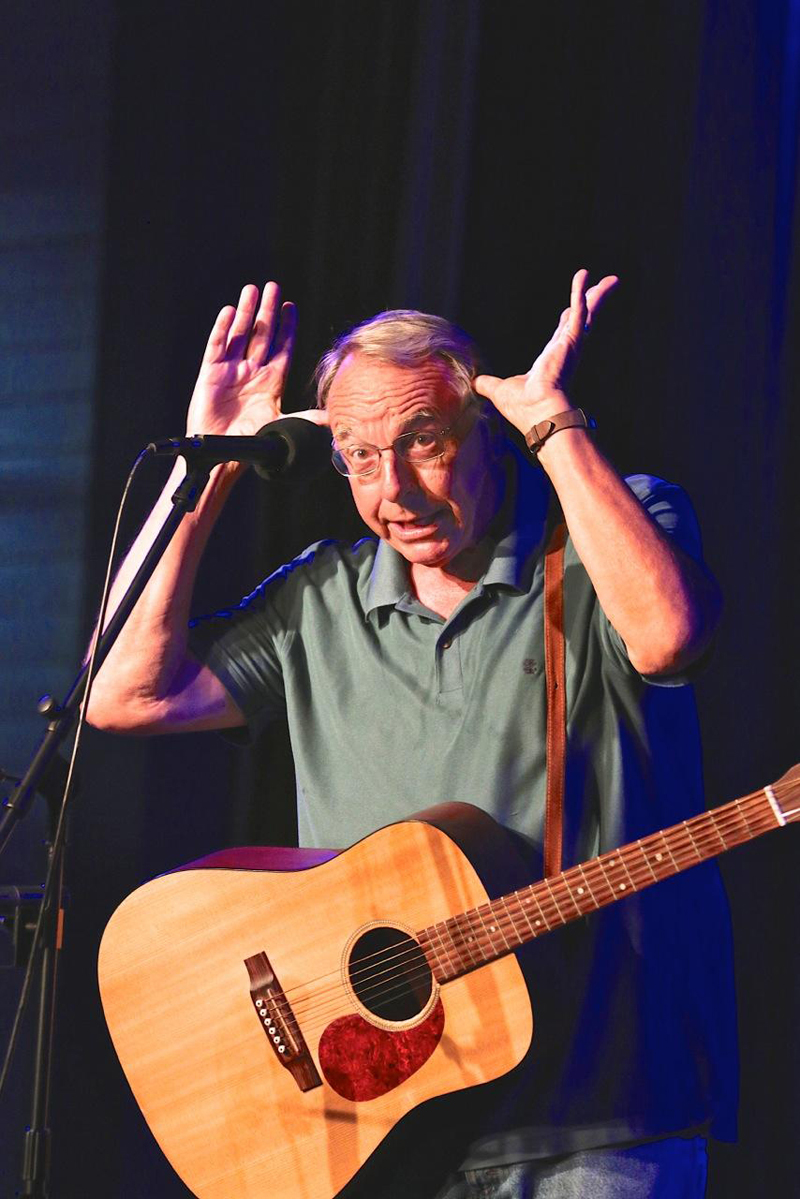 Maine humorist Tim Sample returns to the Opera House at Boothbay Harbor on Thursday, July 18. (Photo courtesy Robert Mitchell)